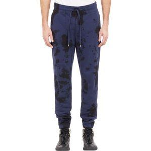Vince Blue Tie Dye Sweatpants joggers L